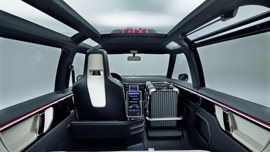 Volkswagen Milan Taxi Concept Revealed in Hanover