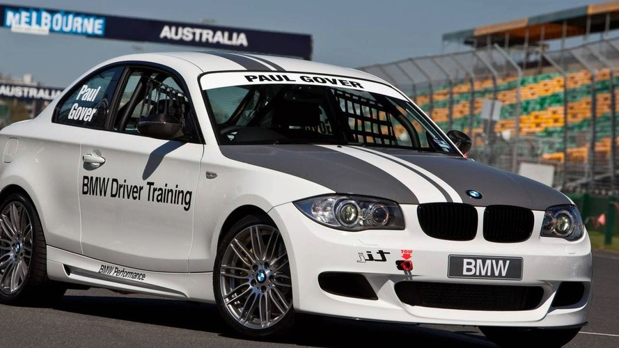 bmw 135i coupe to race v8 supercar and bmw sauber f1 car at australian grand prix. Black Bedroom Furniture Sets. Home Design Ideas