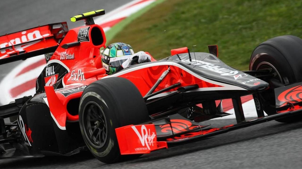 Lucas di Grassi (BRA), Virgin Racing, Spanish Grand Prix, 07.05.2010 Barcelona, Spain