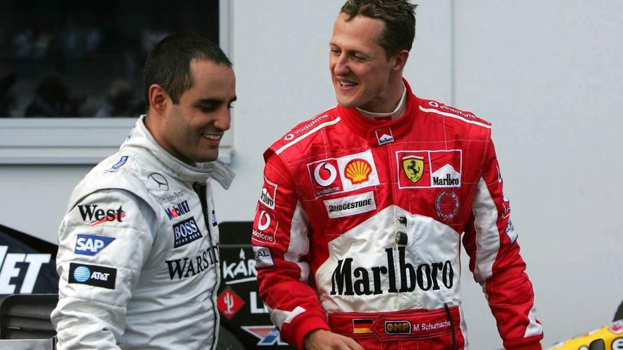 Montoya doubts Schumacher to shine in F1 comeback