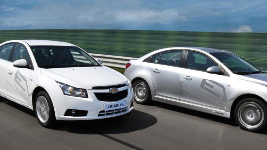 Chevrolet Cruze EV undergoing testing in Korea