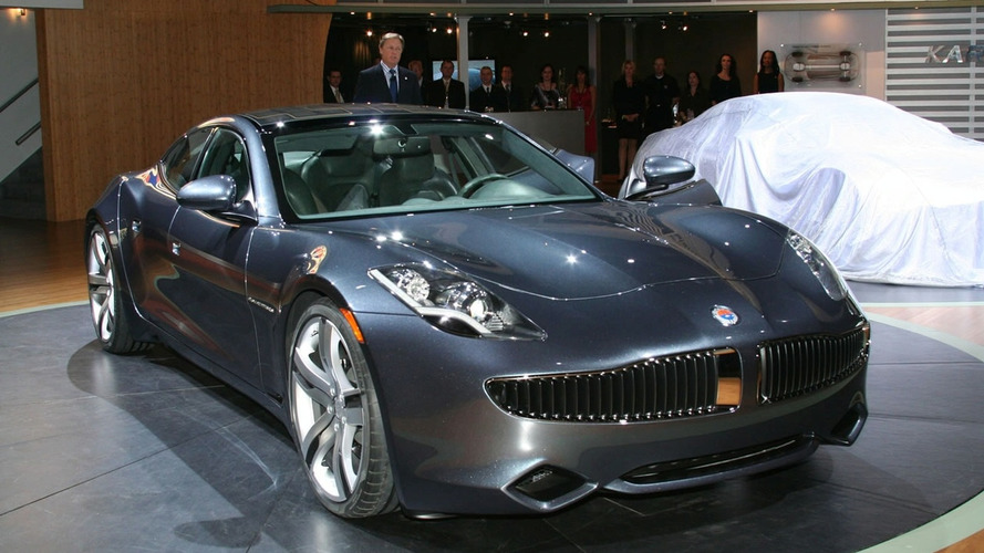 Production Fisker Karma Debuts in Detroit
