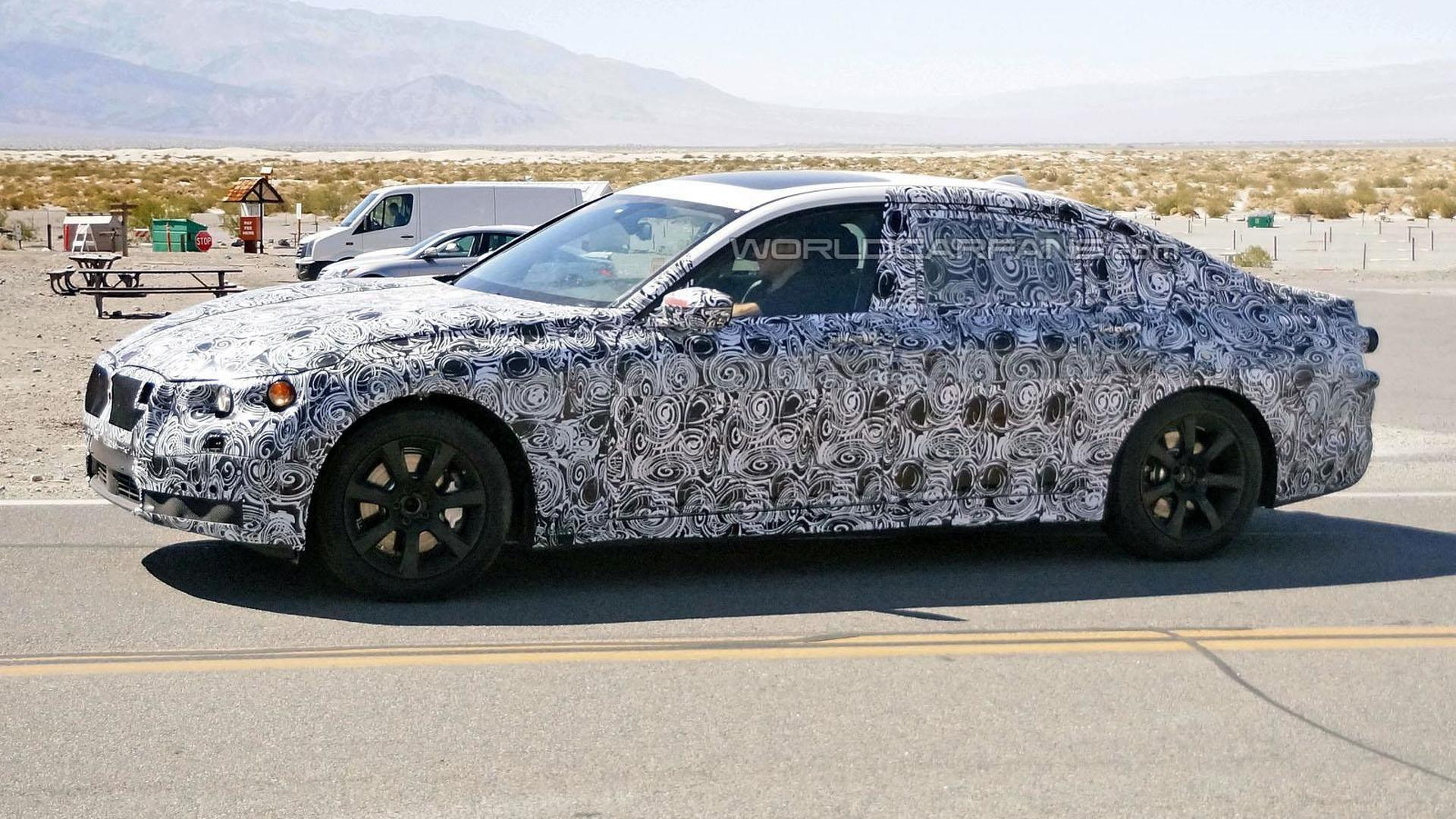 2015 Bmw 7 Series Lwb Spied In The United States