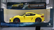 Porsche Cayman GT4 full-size toy car