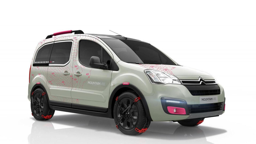 Citroen Berlingo Mountain Vibe Concept revealed, previews the production Berlingo Multispace
