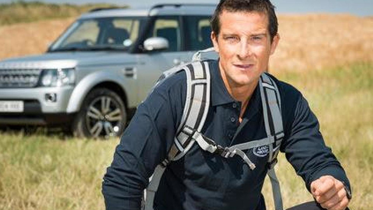 Bear Grylls named Land Rover global brand ambassador