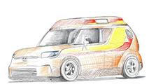 Scion x Riley Hawk Skate Tour xB for SEMA