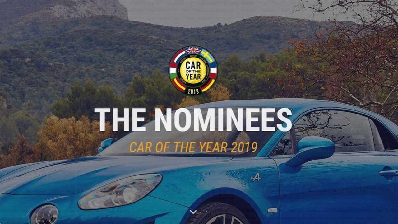 Finaliste Auto dell'anno 2019