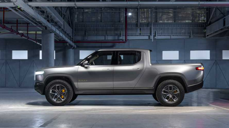 Here's A Closer Look At The Rivian R1T Electric Pickup Truck