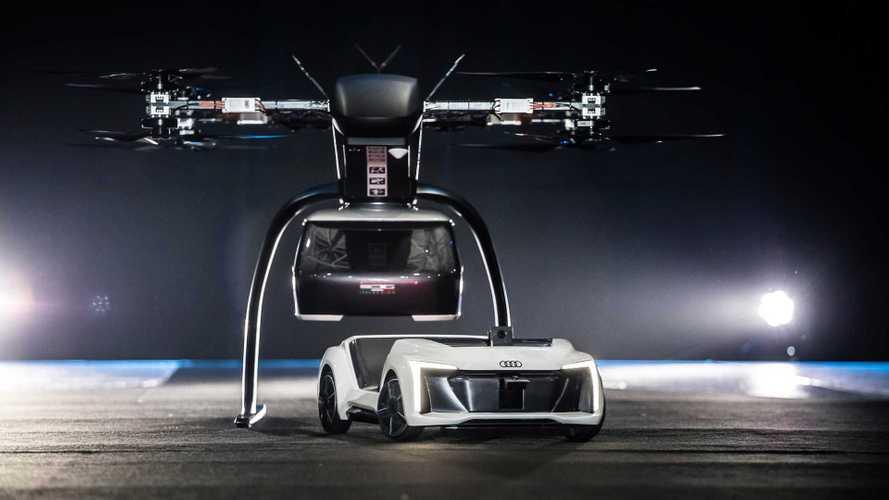 Audi, uçan otomobil fikrinden vazgeçti