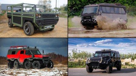 15 Fahrzeuge für die Apokalypse