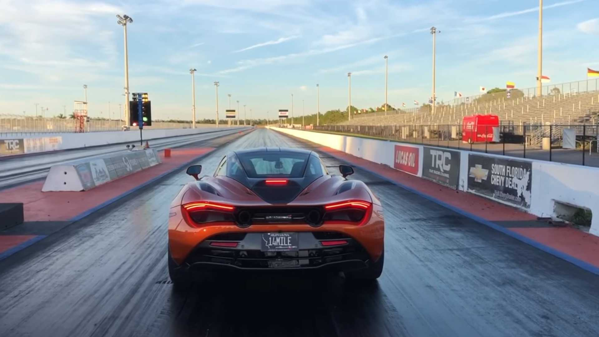 see mclaren 720s with new tires do 0-60 mph in 2.39 seconds