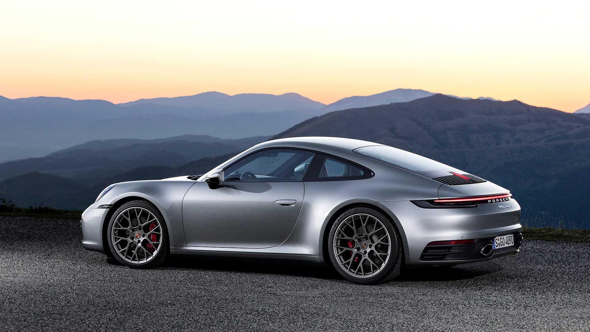 2020 Porsche 911 Carrera S Carrera 4s Debut With 443 Hp