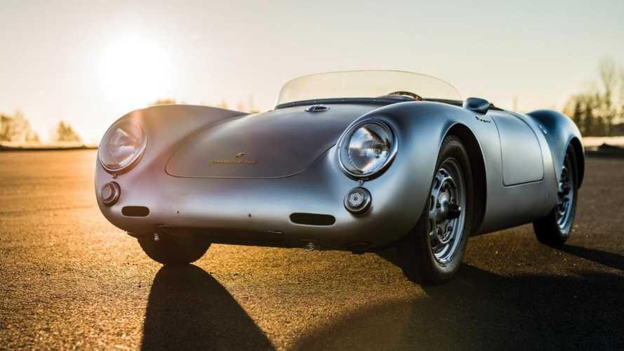 Entre 3,8 et 4,3 millions d'euros pour cette Porsche 550 Spyder de 1956 ex-24 Heures du Mans