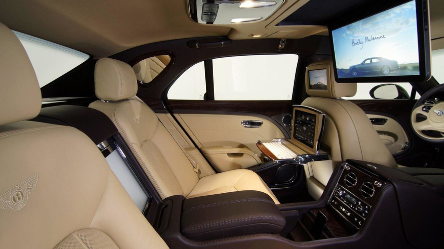 Bentley Mulsanne Executive Interior Concept debuts in Frankfurt