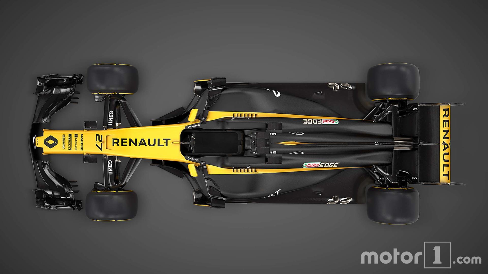 Renault F1 Rs17 2017 Motor1com Fotos