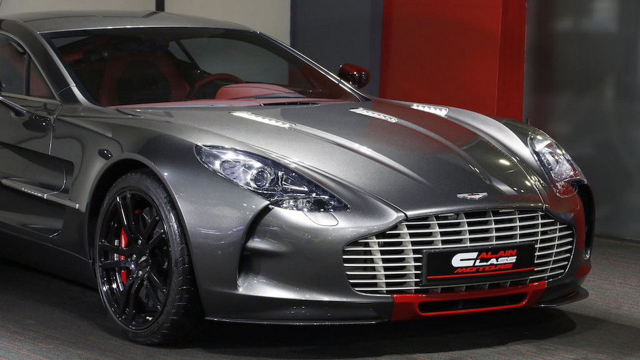 Barely Used Aston Martin One 77 Q Series Needs A New Home