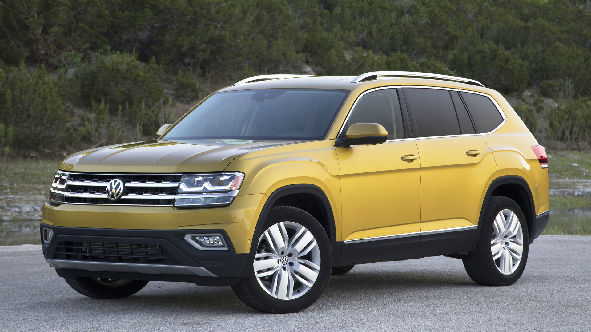 2018 Volkswagen Atlas Second Drive The All American Cuv Newcomer