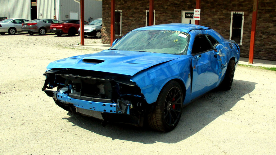Dodge Challenger Hellcat Obliterated After Just 18 Miles