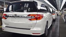 2018 Honda Odyssey Production