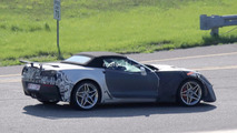 Chevrolet Corvette ZR1 Convertible Spy Pics