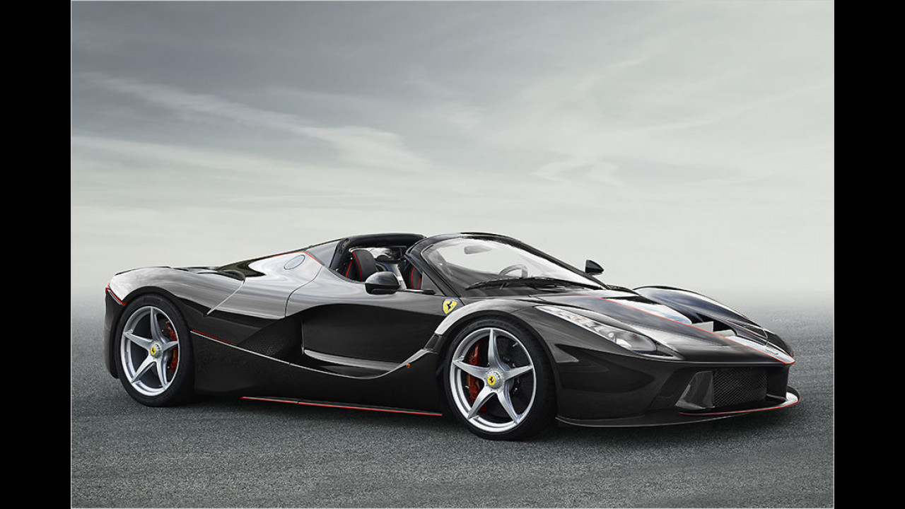 Lösung: Ferrari LaFerrari Aperta