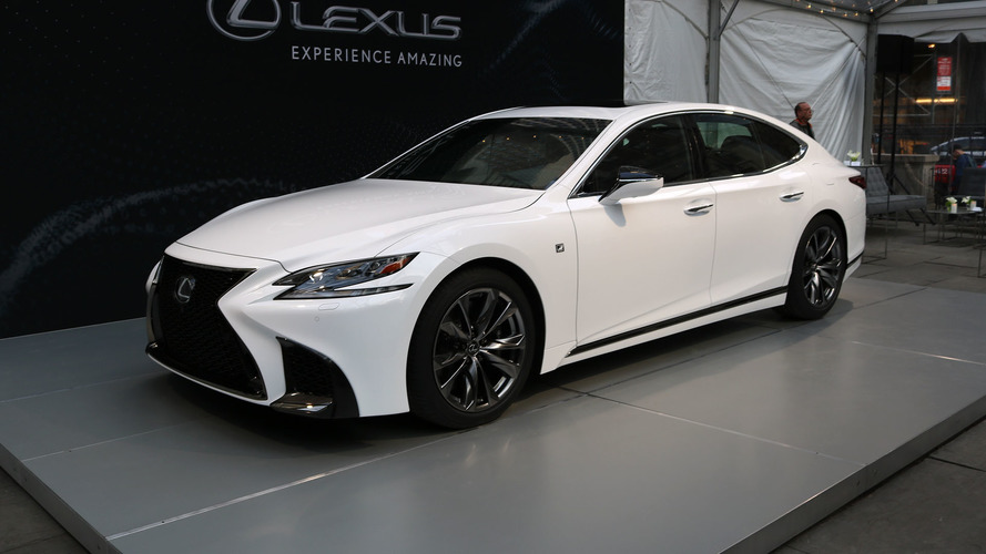 2018 Lexus LS 500 F Sport Is More Aggressive, No More Powerful
