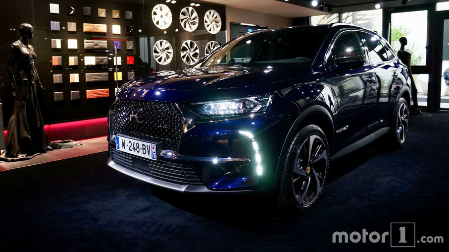 DS 7 Crossback é o carro oficial do novo presidente da França