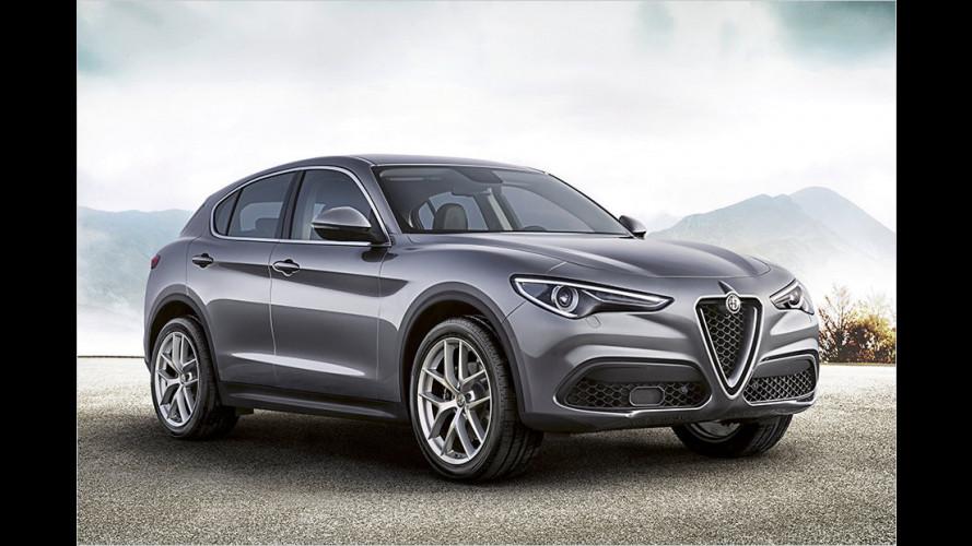 Das neue Alfa-SUV ist nun bestellbar