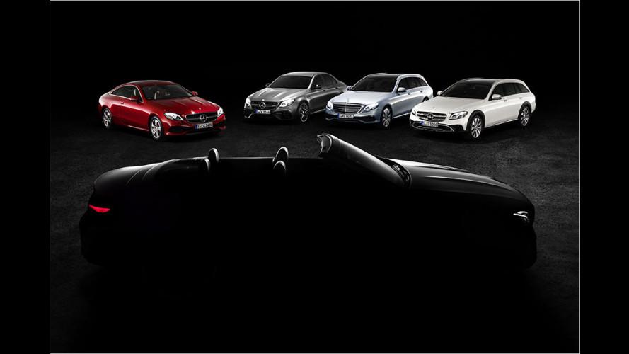 Mercedes bringt E-Klasse Cabrio nach Genf