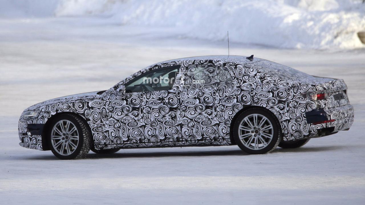 Photos Espion - Audi S8 2019
