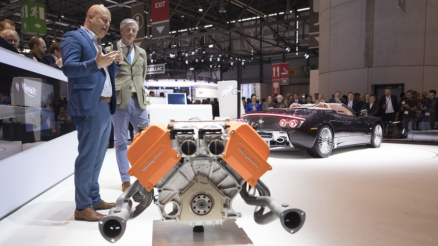 Spyker still hasn't bought even one engine from Koenigsegg