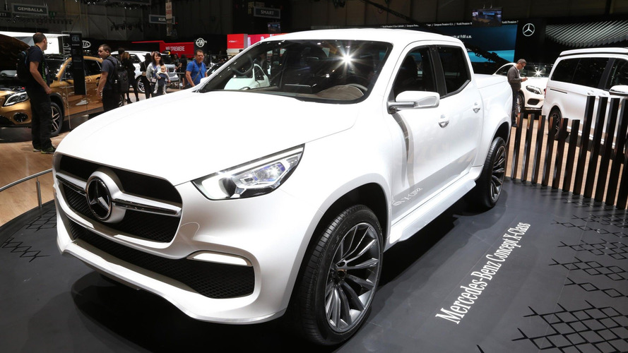 Mercedes-Benz Concept X-Class pickup truck