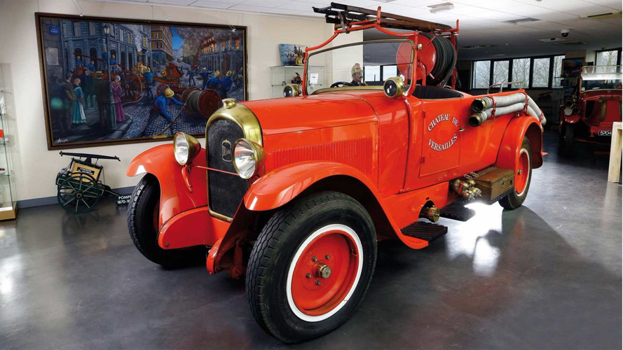 Une enchère record pour un camion de pompiers !
