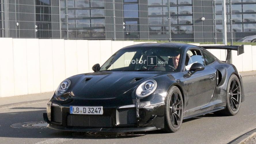Porsche 911 GT2 RS 2018, fotos espía