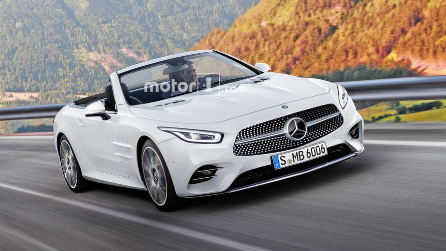 mercedes sl to lose hardtop gain rear seats in 2021 rh motor1 com