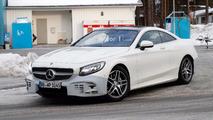 Makyajlı Mercedes-Benz S-sınıfı Coupe casus fotoğrafları