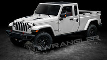 2018 Jeep Wrangler Pickup render