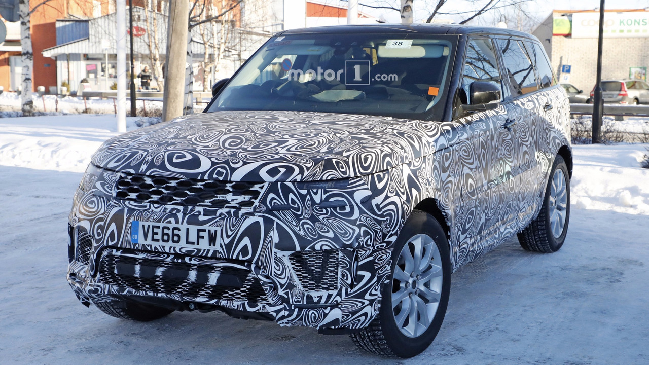 2018 Range Rover Sport Plug In Hybrid Spy Photo