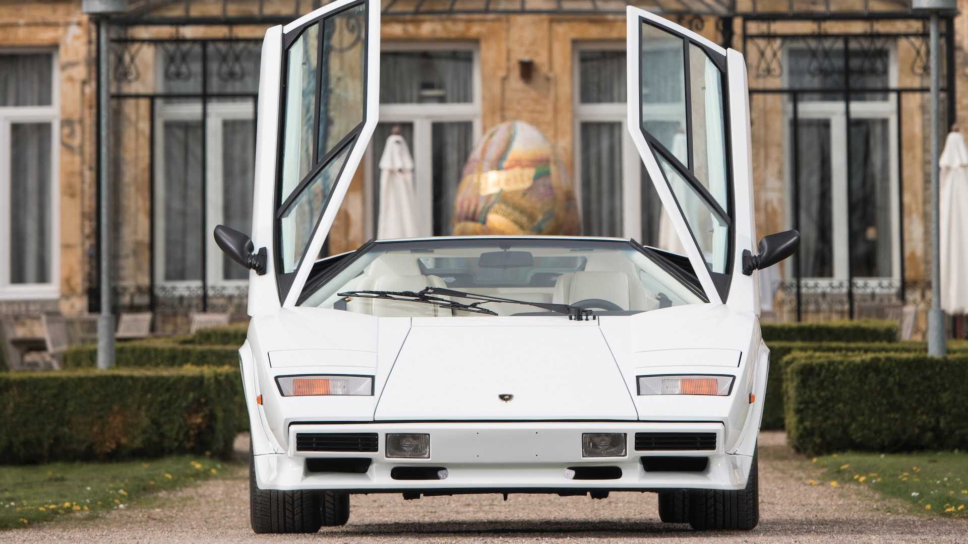 Gold Plated Lamborghini Countach Brings The Bling To Auction