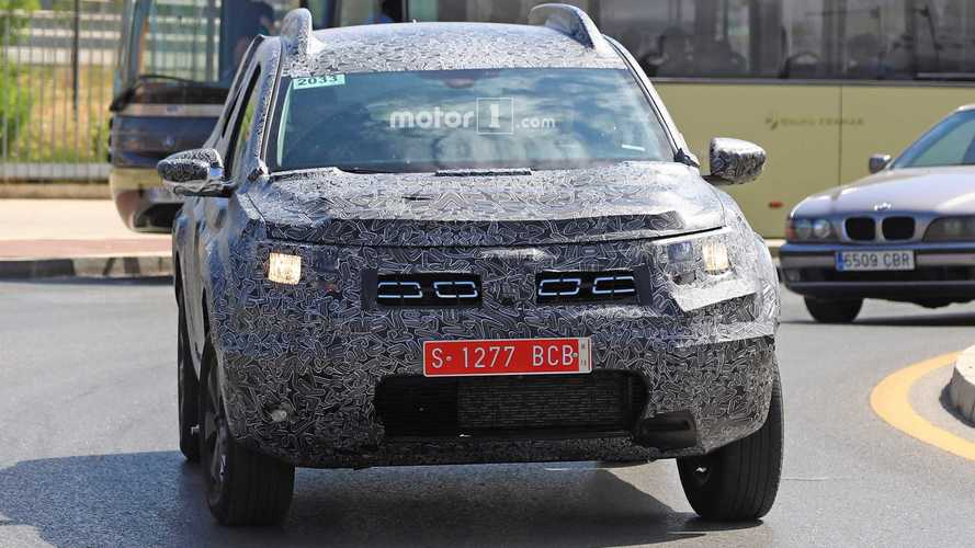 Flagra do novo Dacia Duster 2018