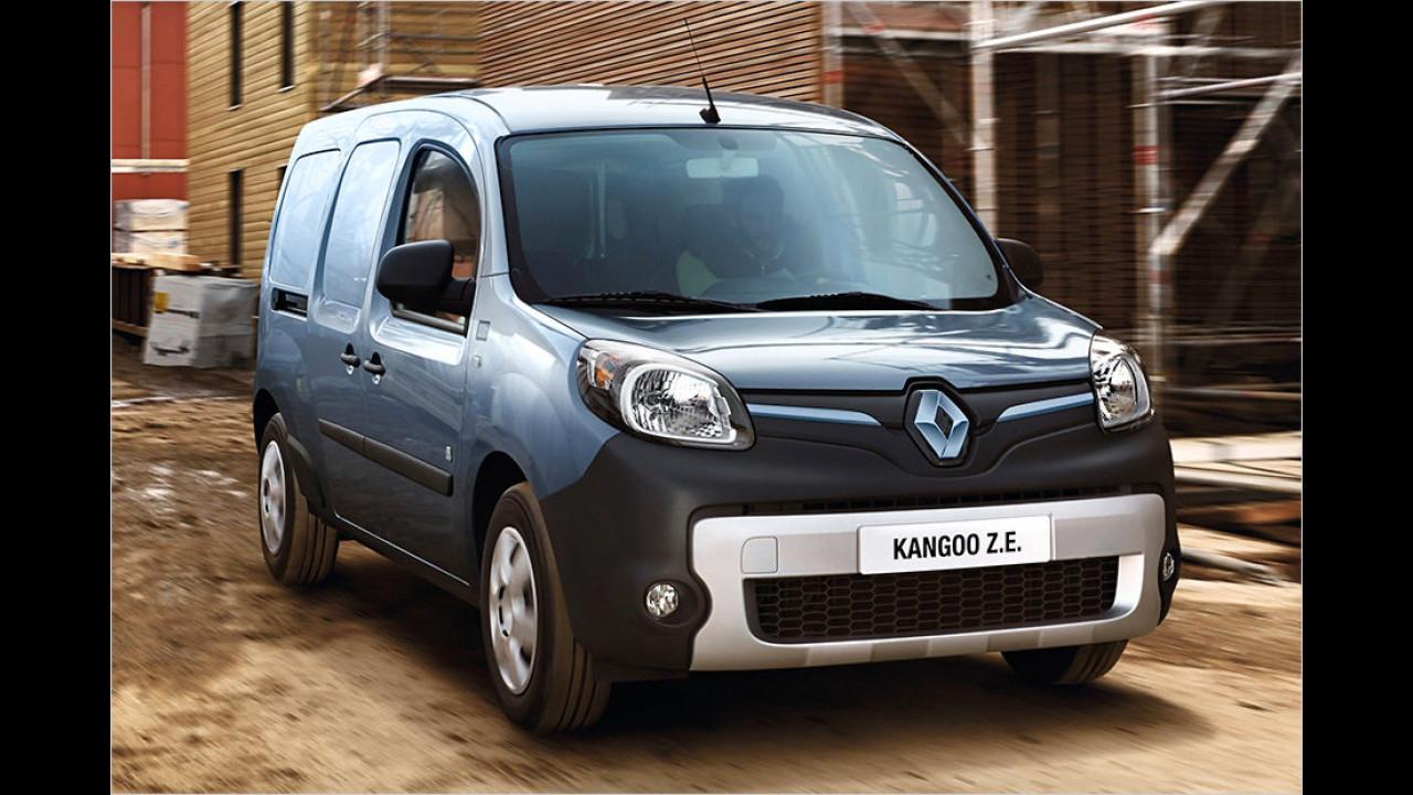 Platz 6: Renault Kangoo Z.E.