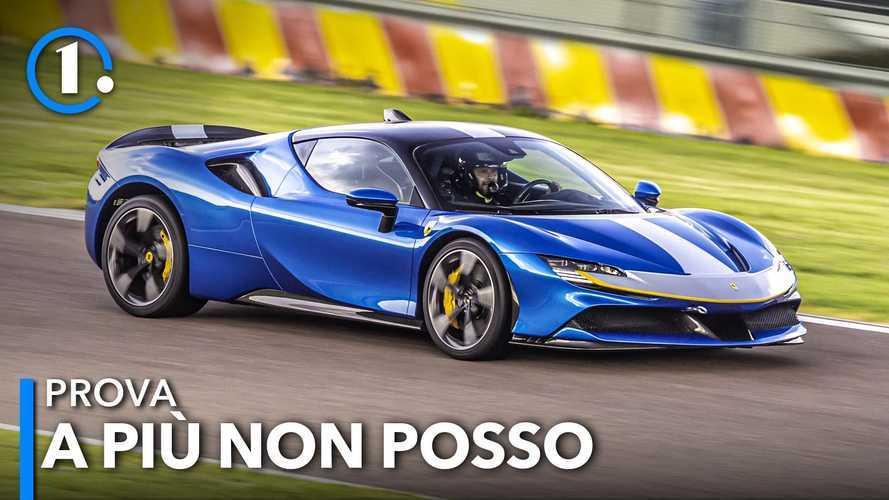 Ferrari SF90 Stradale Assetto Fiorano: è lei la più veloce