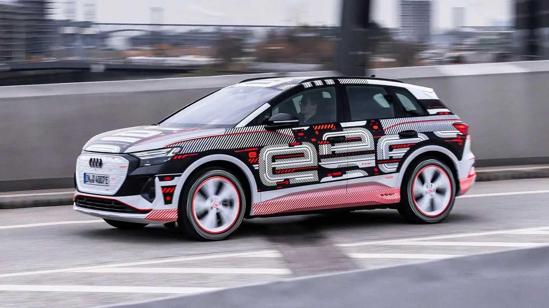 Audi Q4 E-Tron Prototype Exterior