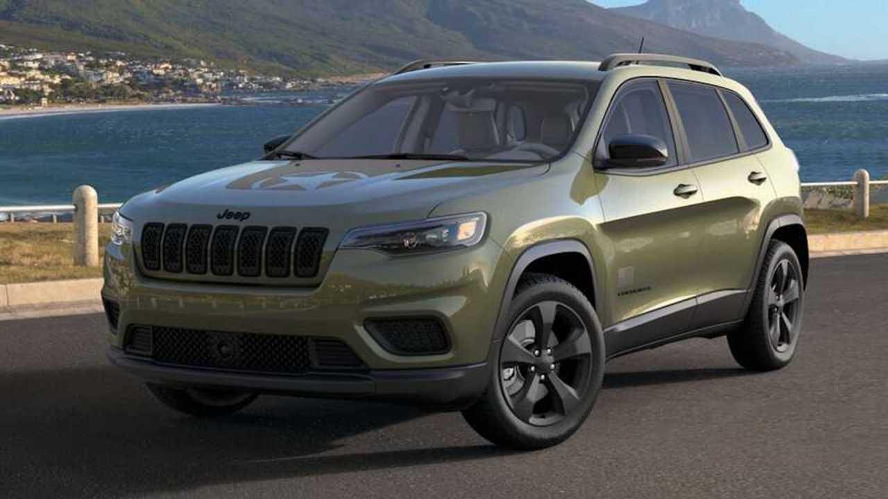 Jeep Cherokee Freedom Edition 2021 dengan warna spesial