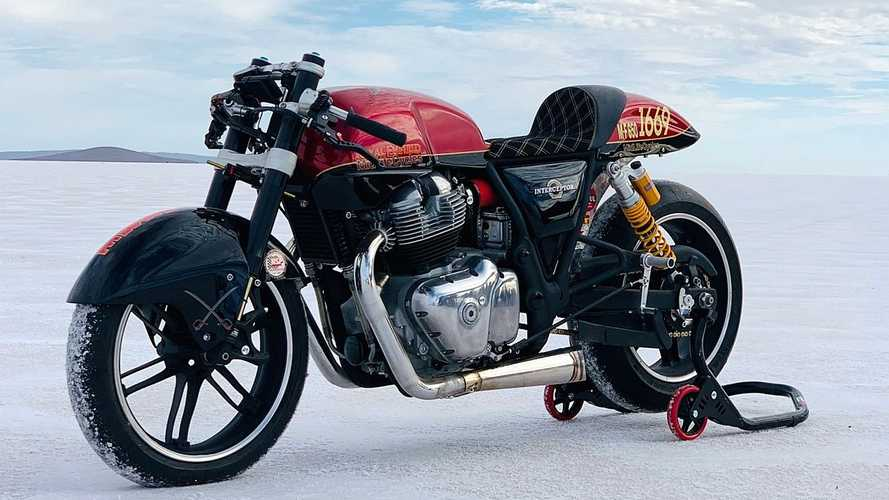 Royal Enfield Interceptor 650 Catat Rekor Kecepatan di Speed Week