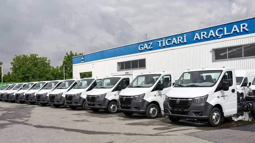 GAZ Grubu Türkiye'de yeni GAZelle NN üretimine başladı