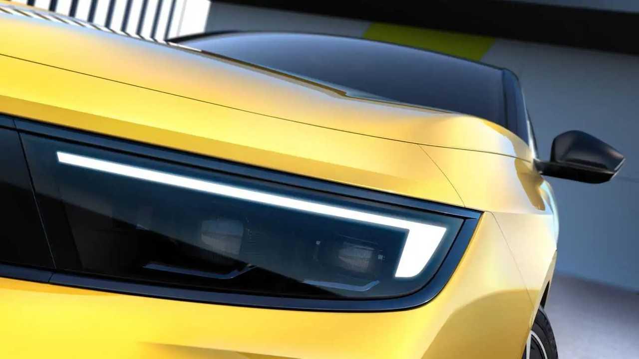 Тизер нового Opel Astra