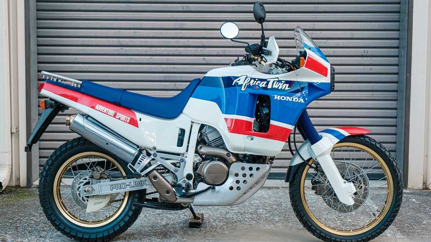 This 1989 Honda Africa Twin RD03 Is A Museum-Quality Stunner