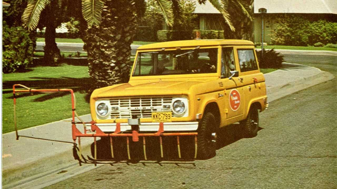 Ford Bronco gas sniffer